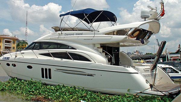 Chiec du thuyen cua mot dai gia Sai Gon tri gia 2 trieu USD Anh H.K. - Chơi du thuyền cần những gì và làm sao sở hữu du thuyền ở việt nam