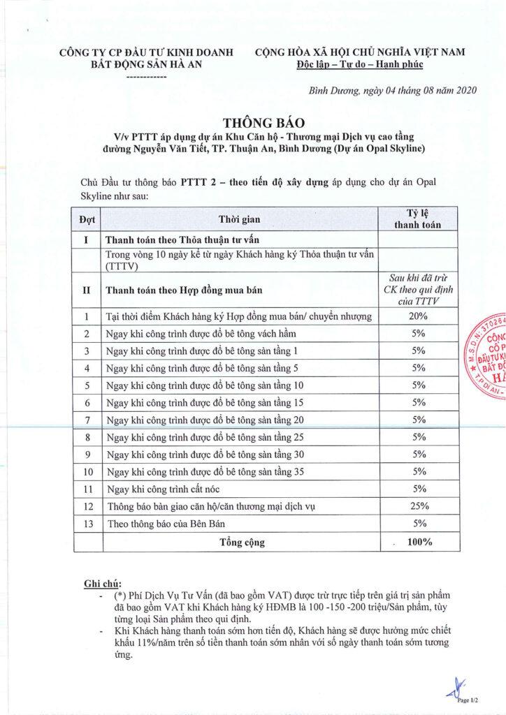 PTTT 2 Theo tien do xay dung 1 724x1024 - Đánh giá dự án căn hộ Opal Skyline Đất Xanh có nên mua hay không?