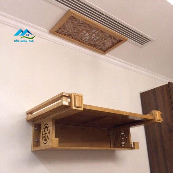 ban tho treo tuong nho cho can ho nho - Bố trí bàn thờ trong căn hộ chung cư phong thủy rước tài lộc