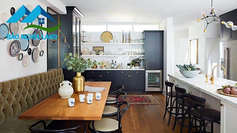cam hoa trong nha bep - Bí quyết bố trí nhà bếp sao cho phong thủy để rước lộc vào nhà