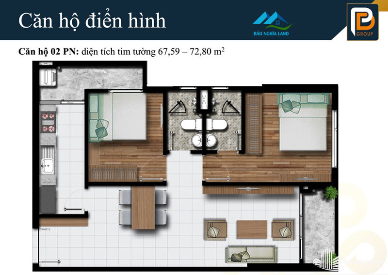 can ho phu dong premier 67m2 den 72m2 - Dự án căn hộ phú đông premier tổng quan dự án giá bán và cho thuê