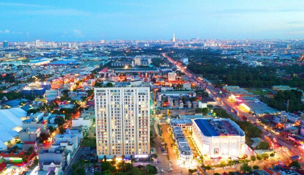 charm plaza 1024x589 - #1 Cập nhật danh sách dự án căn hộ chung cư tại Dĩ An Bình Dương