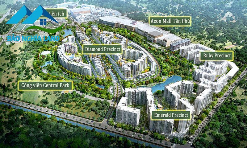 diamond celadon city - Danh sách 10 căn hộ chung cư giá bán dưới 2 tỷ đồng tại TPHCM 2021