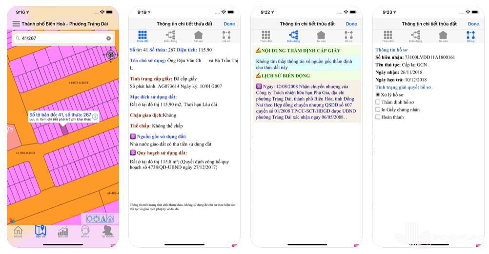 dnailis appstore - Dnailis ứng dụng bản đồ quy hoạch online đất đai tỉnh Đồng Nai