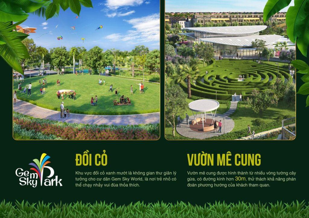 doi co va vuon me cung 1024x723 - Khám phá trải nghiệm công viên giải trí và vui chơi Gem Sky Park