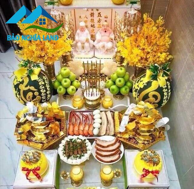 doi vi tri ban tho than tai tai gia - Cách đặt tượng Thần Tài và bố trí bàn thờ Ông Địa Thần Tài trong nhà