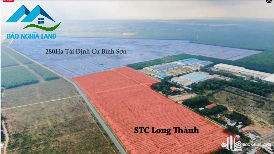 hinh anh thuc te du an stc long thanh - Dự án STC Long Thành kế bên khu tái định cư sân bay Long Thành