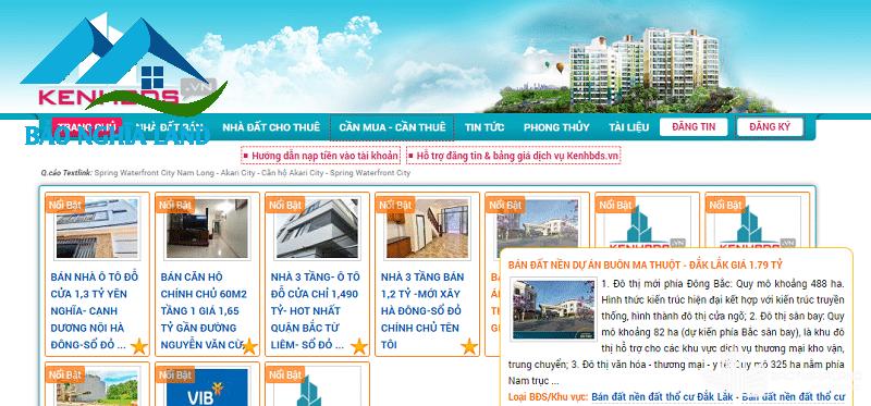 kenh mua ban bat dong san kenh bds - Danh sách trang web mua bán nhà đất uy tín hiệu quả nhất 2021