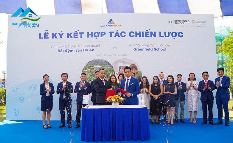 le ky ket truong hoc quoc te Greenfield gem sky world - Lễ ký kết hợp tác giữa chủ đầu tư Gem Sky World với trường quốc tế Greenfield School