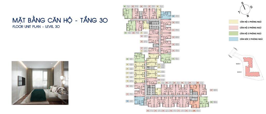 mat bang can ho tang 30 1024x439 - Đánh giá dự án căn hộ Opal Skyline Đất Xanh có nên mua hay không?