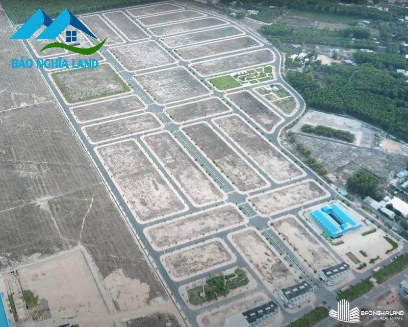 mat bang d2d nhin tu tren cao - Tổng Quan dự án D2D Lộc An - Khu dân cư cửa ngõ sân bay Long Thành