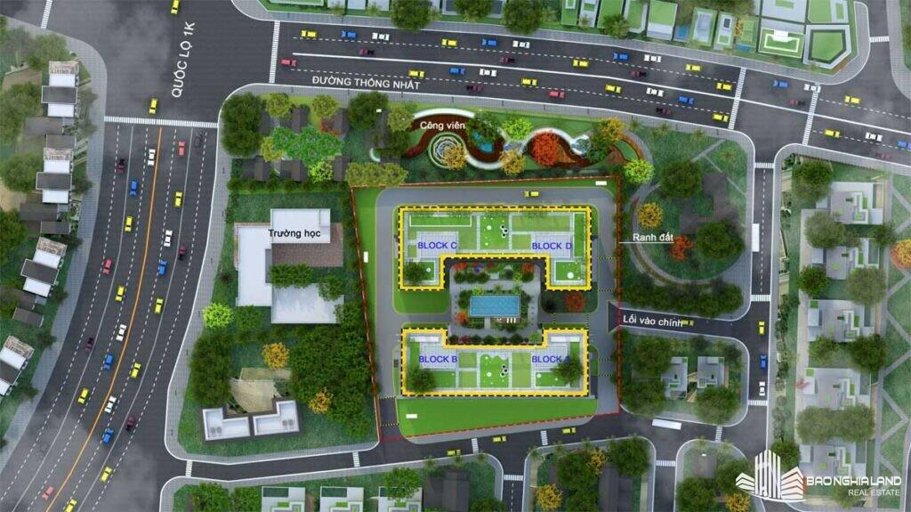 mat bang tong the du an bcons plaza 1024x575 - Dự án căn hộ Bcons Plaza Dĩ An cập nhật thông tin giá bán 2021