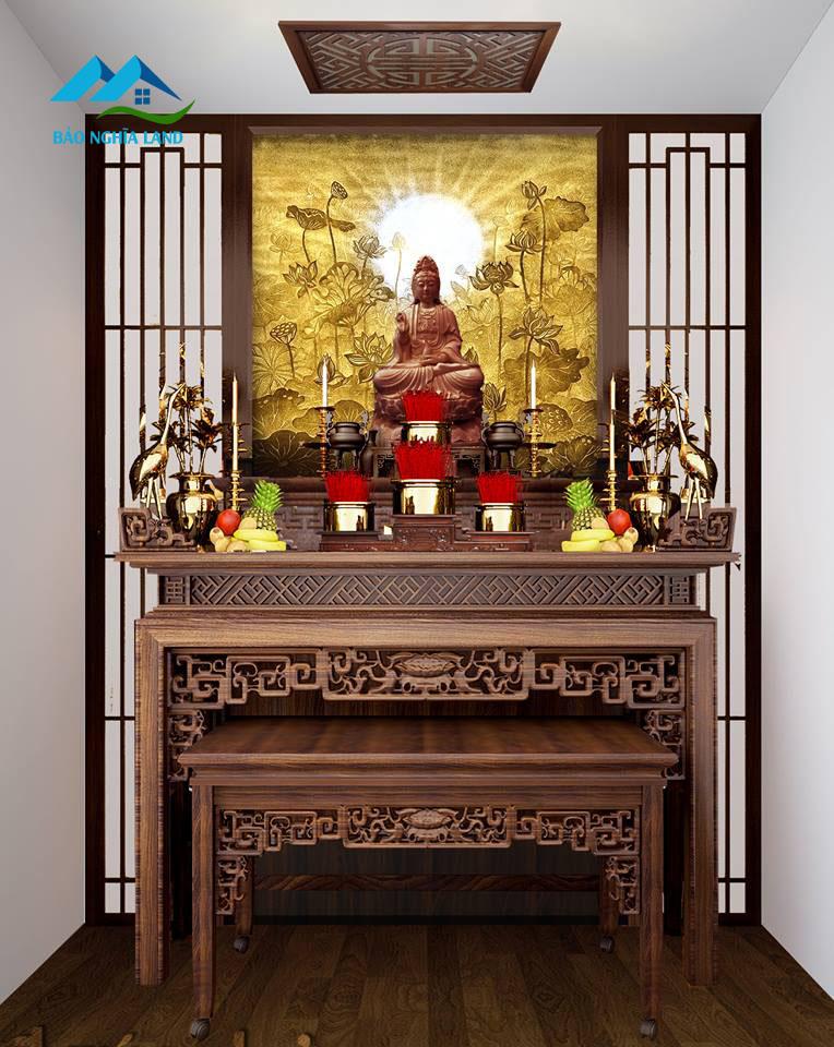 mau ban tho lon cho can ho dien tich lon - Bố trí bàn thờ trong căn hộ chung cư phong thủy rước tài lộc