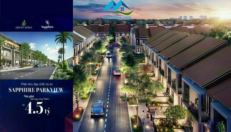 nha pho phan khu sapphire parkview gia 45 ty - Chính sách ưu đãi và thanh toán nhà phố xây sẵn Sapphire Parkview