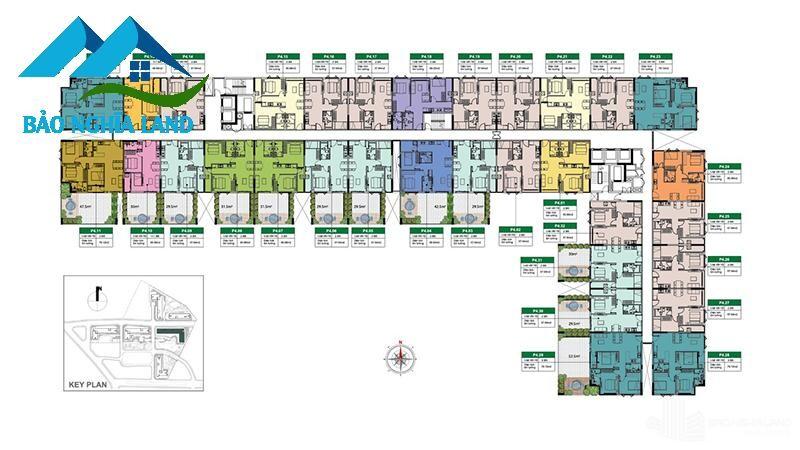park 4 tang 04 mat bang picity high park quan 12 - Tổng quan dự án căn hộ Picity High Park Quận 12 - [ 0936553693 ]