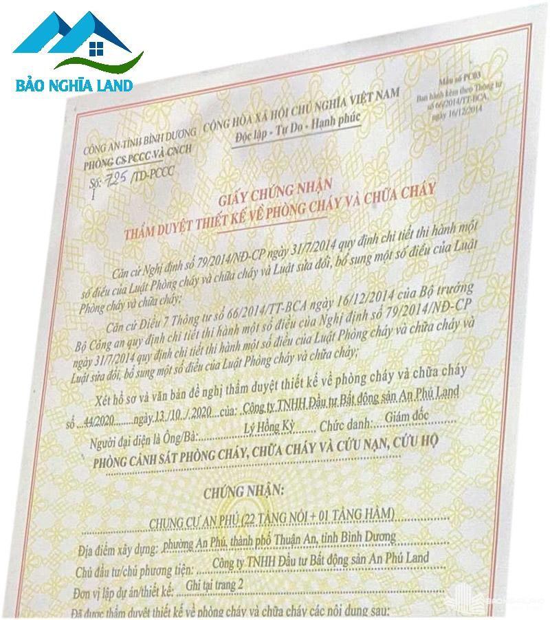 phap ly du an tecco felice homes Copy - Dự án căn hộ Tecco Felice Home Bình Dương Đất Xanh phân phối