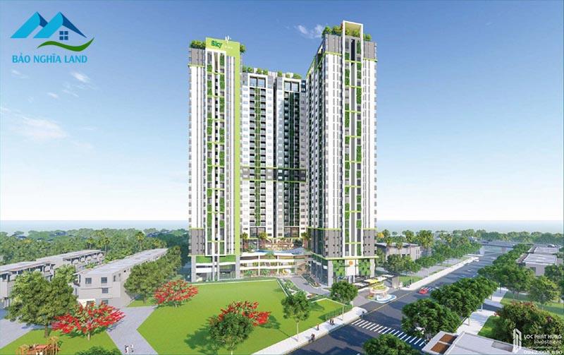 phoi canh can ho phu dong sky garden duong an binh tinh binh duong 1 - #1 Cập nhật danh sách dự án căn hộ chung cư tại Dĩ An Bình Dương
