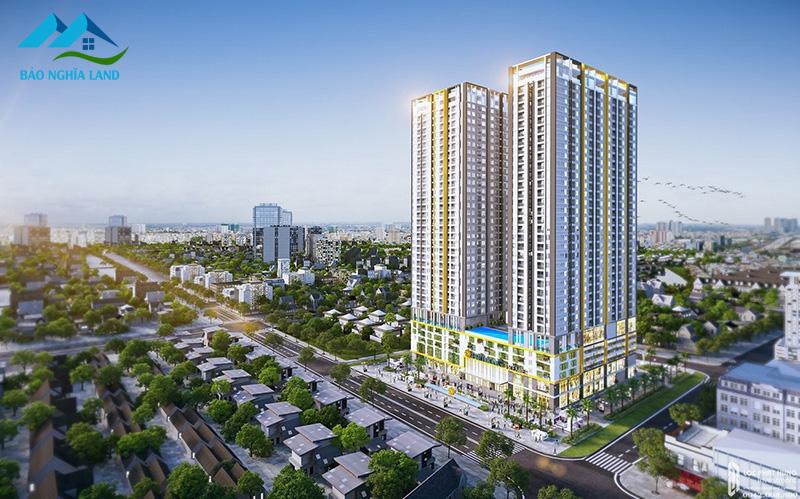 phoi canh can ho phu dong smart city duong doc lap tinh binh duong 2 - #1 Cập nhật danh sách dự án căn hộ chung cư tại Dĩ An Bình Dương