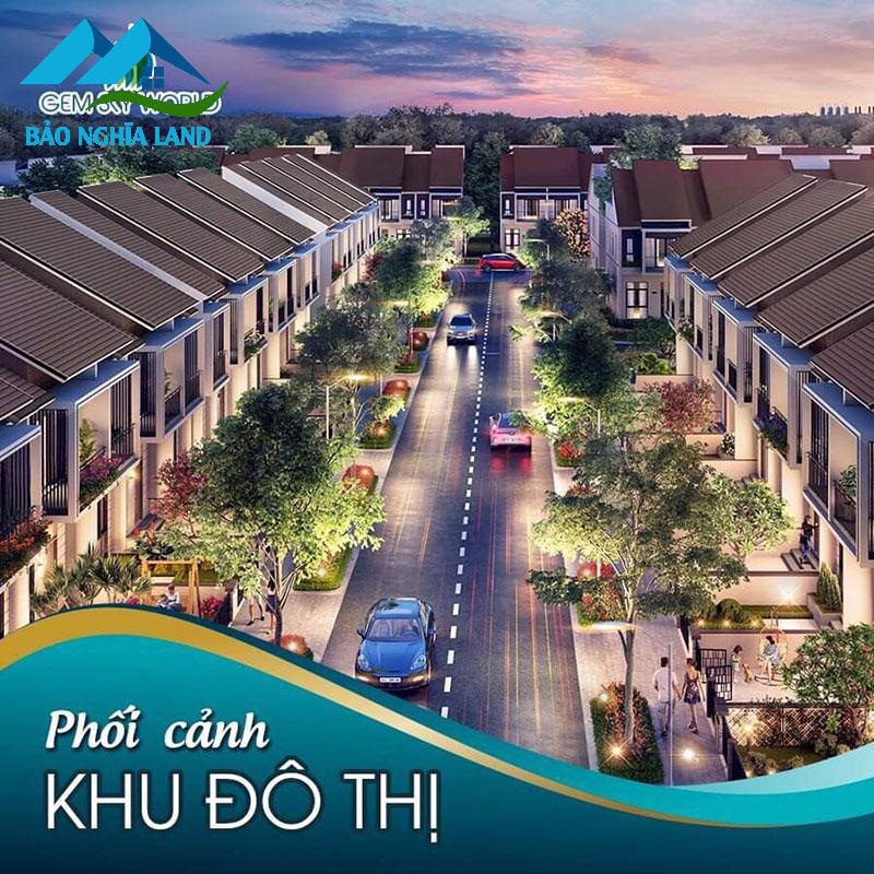 phoi canh nha pho xay san saphire parkview - Cập nhật bảng giá và chính sách tháng 6/2021 nhà phố shophouse đất nền Gem Sky World