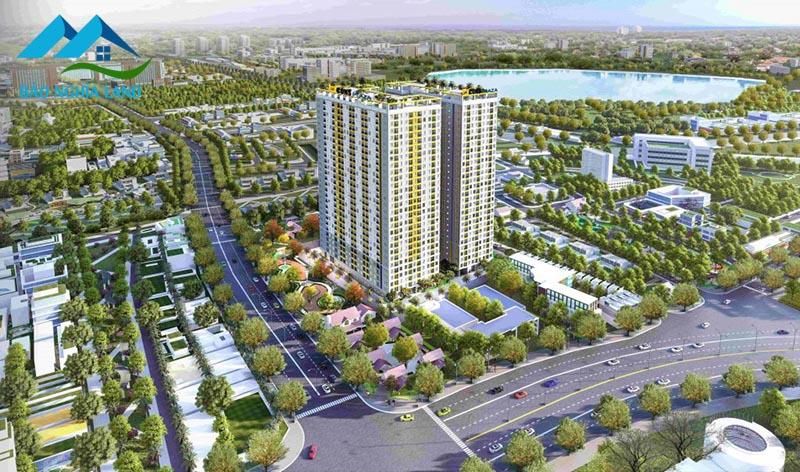 phoi canh bcons plaza - #1 Cập nhật danh sách dự án căn hộ chung cư tại Dĩ An Bình Dương
