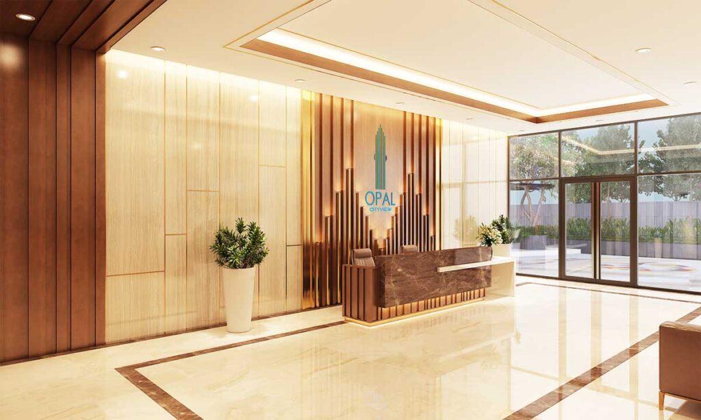 san don du an opal cityview1 1024x613 - Bảng giá dự án căn hộ Opal Cityview Bình Dương – CĐT Tập Đoàn Đất Xanh