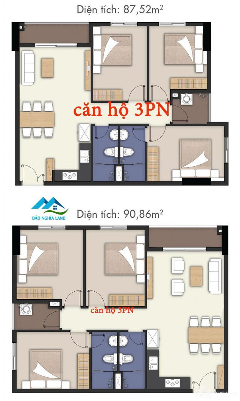 thiet ke can ho lavita charm 3pn - Dự án căn hộ Lavita Charm TP Thủ Đức cập nhật tiến độ mới nhất