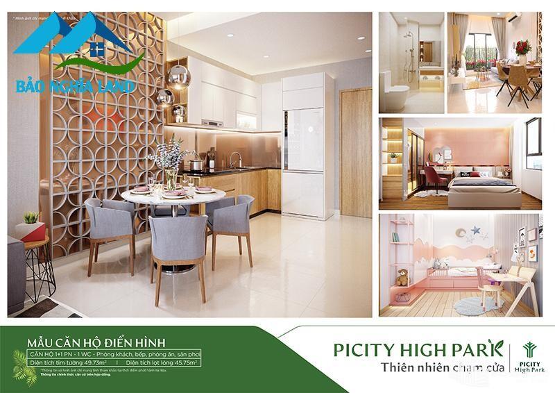 thiet ke noi that can ho piciyi 1pn - Tổng quan dự án căn hộ Picity High Park Quận 12 - [ 0936553693 ]