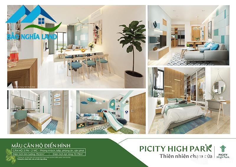 thiet ke noi that can ho piciyi 3pn - Tổng quan dự án căn hộ Picity High Park Quận 12 - [ 0936553693 ]