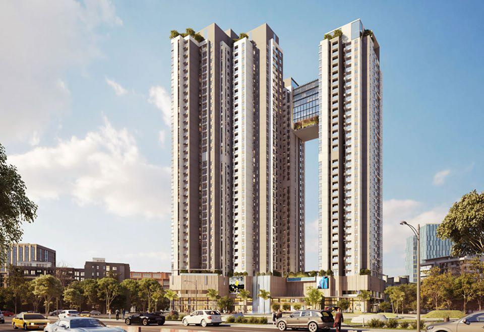 thiet ke the Emerald Golf view binh duong - Danh sách căn hộ chung cư giá rẻ tại tp Thuận An Bình Dương