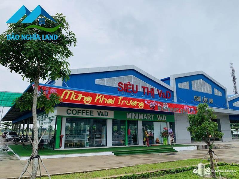 tien ich cho du an d2d loc an - Tổng Quan dự án D2D Lộc An - Khu dân cư cửa ngõ sân bay Long Thành