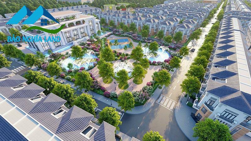tien ich cong vien du an stc long thanh - Dự án STC Long Thành kế bên khu tái định cư sân bay Long Thành