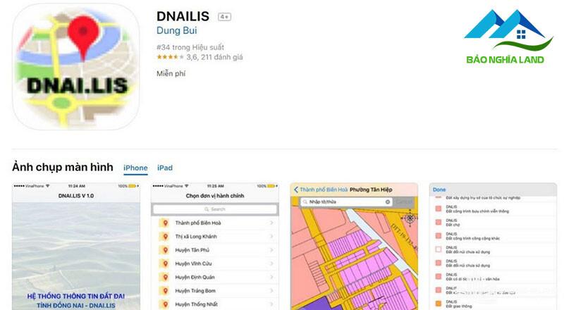 tra cuu thong tin quy hoach dong nai - Dnailis ứng dụng bản đồ quy hoạch online đất đai tỉnh Đồng Nai